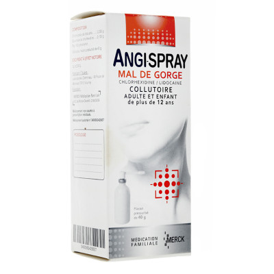 Image ANGISPRAY MAUX DE GORGE COLLUTOIRE 40G